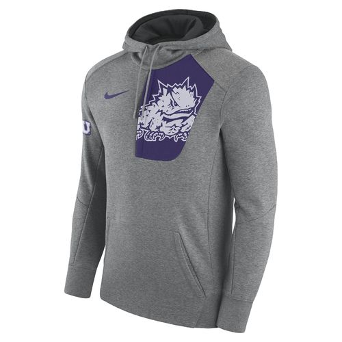 Nike Men's Texas Christian University Fly Fleece Pullover Hoodie