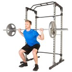 Fitness Reality 810XLT Super Max Power Cage with 800 lbs Capacity Super Max 1000 Bench Set - view number 3