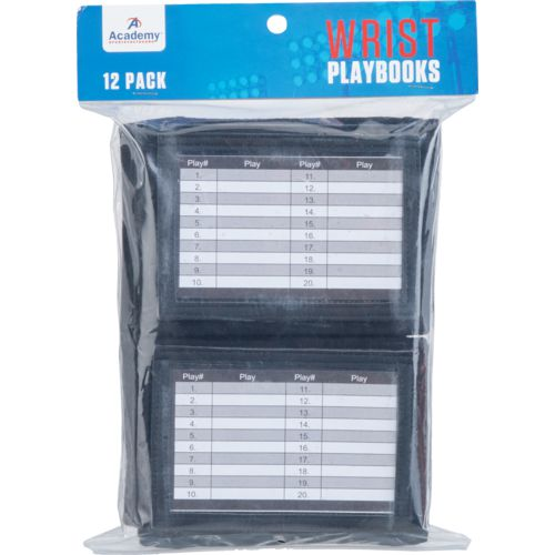 Academy Sports + Outdoors Wrist Playbooks 12-Pack - view number 1