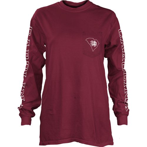 Three Squared Juniors' University of South Carolina Mystic Long Sleeve T-shirt