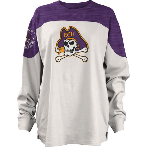 Three Squared Juniors' East Carolina University Cannondale Long Sleeve T-shirt