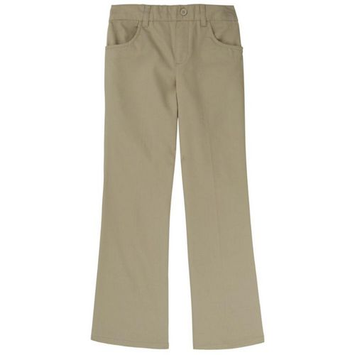 French Toast Girls' Plus Pull-On Uniform Pant