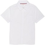 French Toast Girls' Plus Short Sleeve Pointed Collar Blouse - view number 1