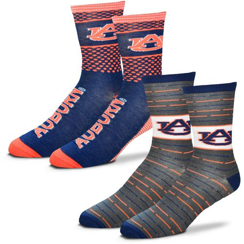 For Bare Feet Men's Auburn University Father's Day Socks