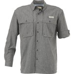 Magellan Outdoors Men's Aransas Pass Heather Long Sleeve Fishing Shirt - view number 1