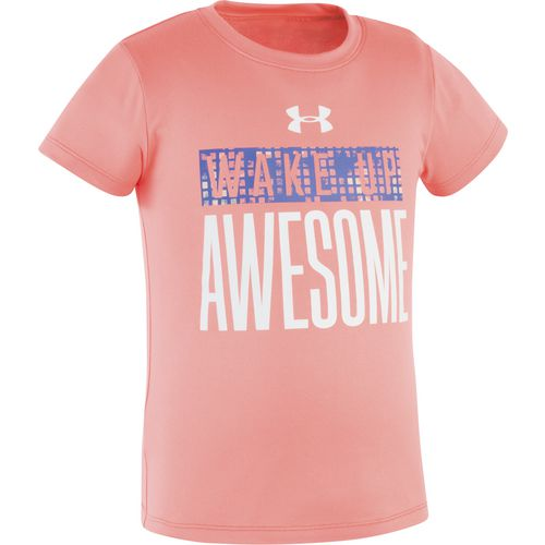 Under Armour Girls' Wake Up Awesome T-shirt