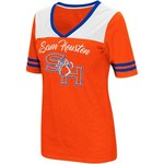 Colosseum Athletics Women's Sam Houston State University Twist 2.1 V-Neck T-shirt - view number 1