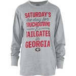 Three Squared Juniors' University of Georgia Touchdowns and Tailgates T-shirt - view number 1