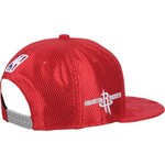 New Era Men's Houston Rockets 9FIFTY On Court Snapback Cap - view number 3
