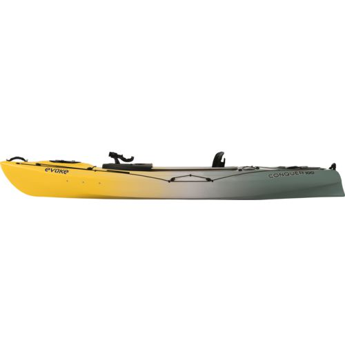 Evoke Conquer 100 10 ft Sit-In Fishing Kayak - view number 4