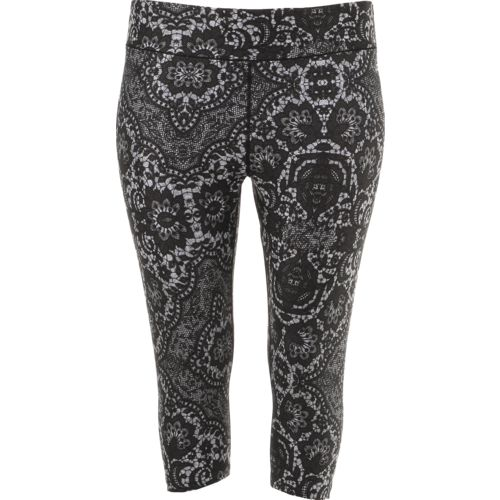 Display product reviews for BCG Women's Printed Plus Size Capri Pant