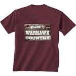 New World Graphics Men's University of Louisiana at Monroe Welcome Sign T-shirt - view number 1