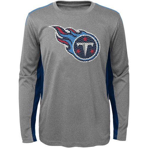 NFL Boys' Tennessee Titans Mainframe Performance T-shirt