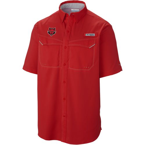 Columbia Sportswear Men's Arkansas State University Low Drag Offshore Short Sleeve Shirt