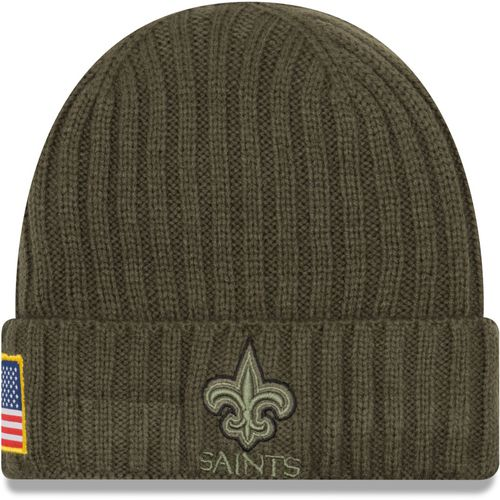 New Era Men's New Orleans Saints Salute to Service '17 Knit Cap