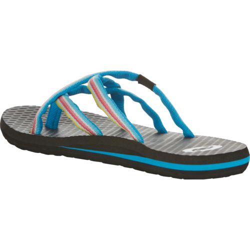 O'Rageous Women's Strappy Yoga Thong Sandals - view number 3