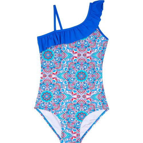 O'Rageous Girls' Mystery Medallion 1-Piece Swimsuit