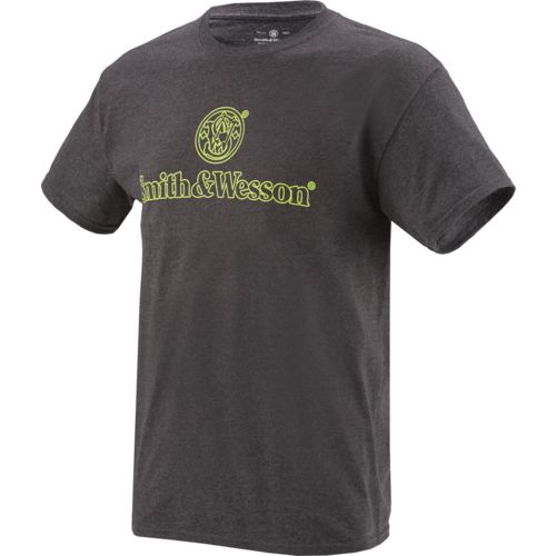 Smith & Wesson Men's Stacked Logo Boarder T-shirt - view number 1