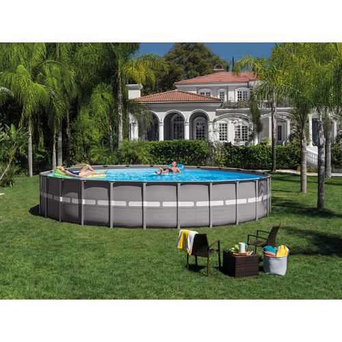 INTEX 24 ft x 52 in Round Ultra Frame Pool Set - view number 1