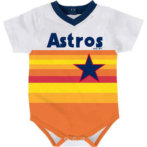 MLB Infants' Houston Astros Cooperstown Jersey Onesie