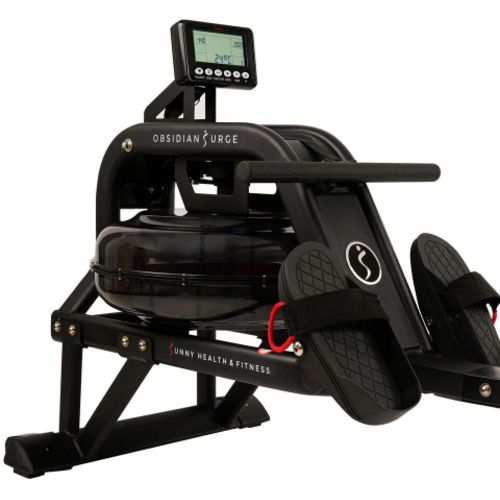 Sunny Health & Fitness Obsidian Surge Water Rowing Machine - view number 6