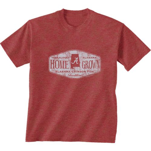 New World Graphics Men's University of Alabama Home Grown T-shirt