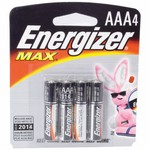 Energizer® Max AAA Batteries 4-Pack