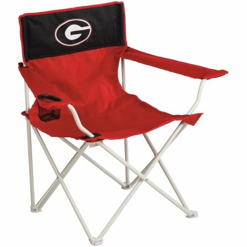 Logo Chair Georgia Bulldogs Canvas Tailgate Chair