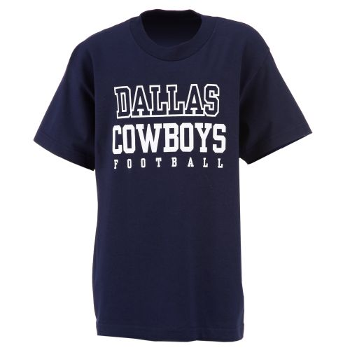 Dallas Cowboys Boys' Short Sleeve Practice T-shirt - view number 1