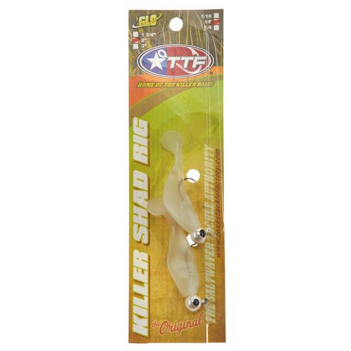 Texas Tackle Factory Double Shad 1/8 oz Rig