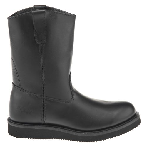 Brazos  Men s Wellington Black Work Boots