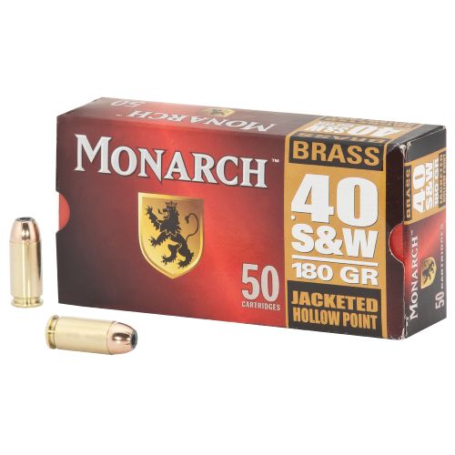 Monarch® .40 S&W JHP 180-Grain Centerfire Ammunition
