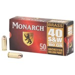 Monarch® S&W JHP .40 180-Grain Centerfire Ammunition