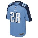 Nike Men's Tennessee Titans Chris Johnson #28 Replica Jersey