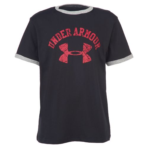 Under Armour® Boys' Collegiate Ringer T-shirt