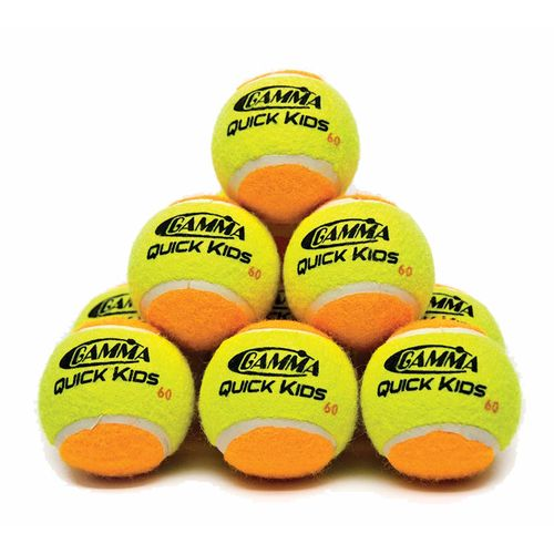 Gamma Quick Kids' 60 Tennis Balls 12-Pack