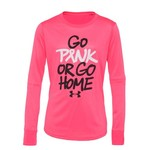 Under Armour® Girls' Go Pink Long Sleeve Graphic T-shirt