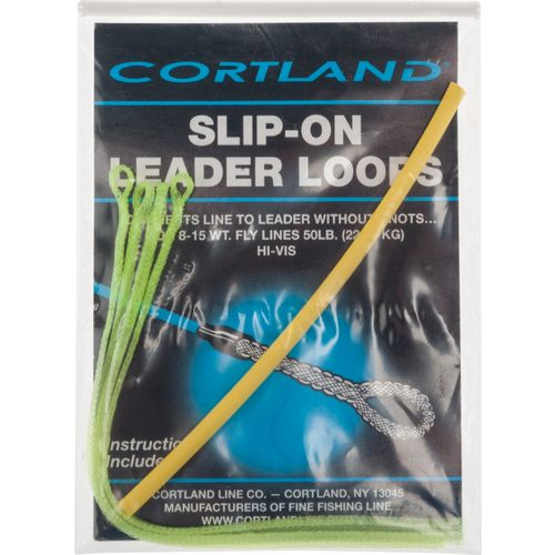 Cortland 50 lb. Slip-On Leader Loops 4-Pack