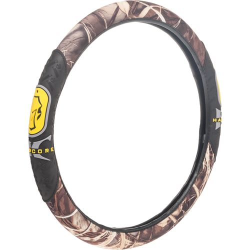 Hard Core Rubber Grip Steering Wheel Cover