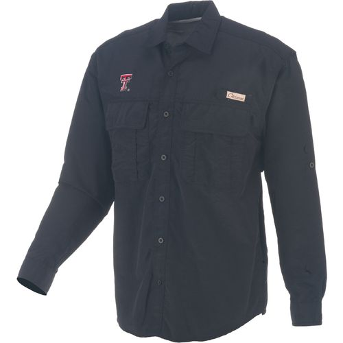 Colosseum athletics men 39 s texas tech university outrigger for Fishing shirts academy