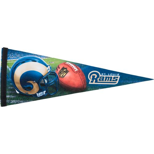 Wincraft st louis rams 12 h x 30 w pennant academy for Craft stores st louis