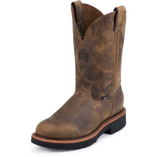 Justin Men's Rugged Gaucho Steel Toe Work Boots