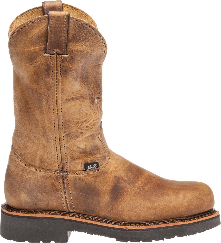 Justin Men's Rugged Gaucho Steel Toe Work Boots