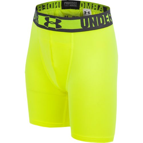 "Image for Under Armour® Boys' HeatGear® Sonic Fitted 4"" Short from Academy"