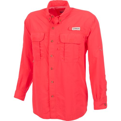 Academy magellan outdoors men 39 s laguna madre long for Magellan fishing shirts
