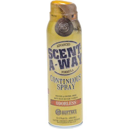 Display product reviews for Hunter's Specialties® Scent-A-Way 15 oz. Continuous Spray