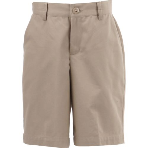 Austin Trading Co. Boys' Uniform Flat Front Twill Short