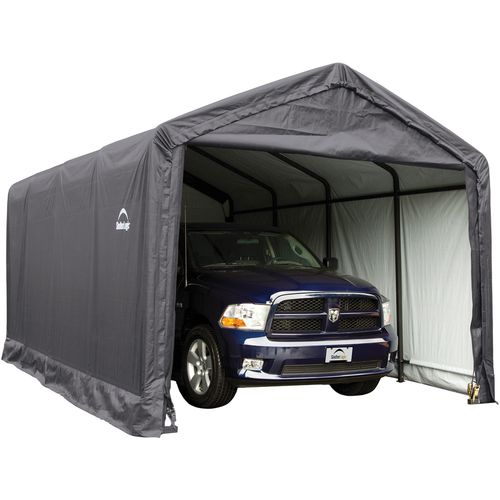ShelterLogic 12' x 20' Peak-Style Garage/Storage Shelter - view number 1