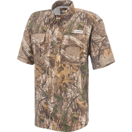 magellan outdoors men 39 s laguna madre camo short sleeve