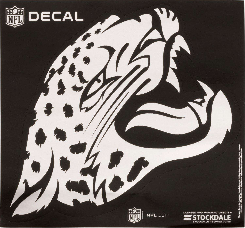 "Stockdale Jacksonville Jaguars 6"" x 6"" Metallic Vinyl"